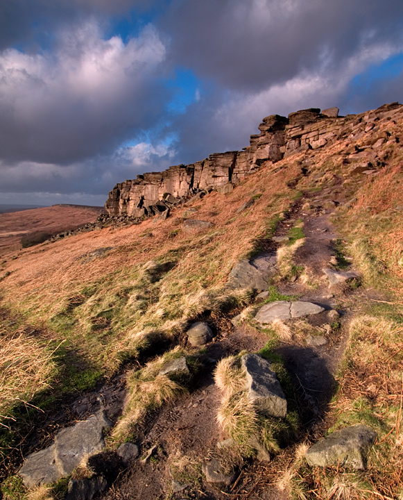 Path to Stanage