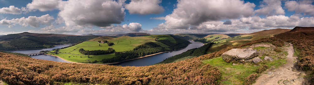 Ladybower in the Derwent Valley