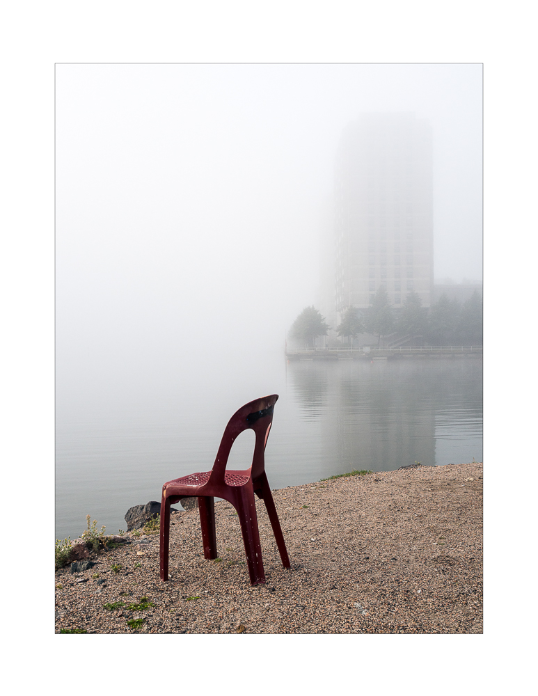 Chair of a fisherman