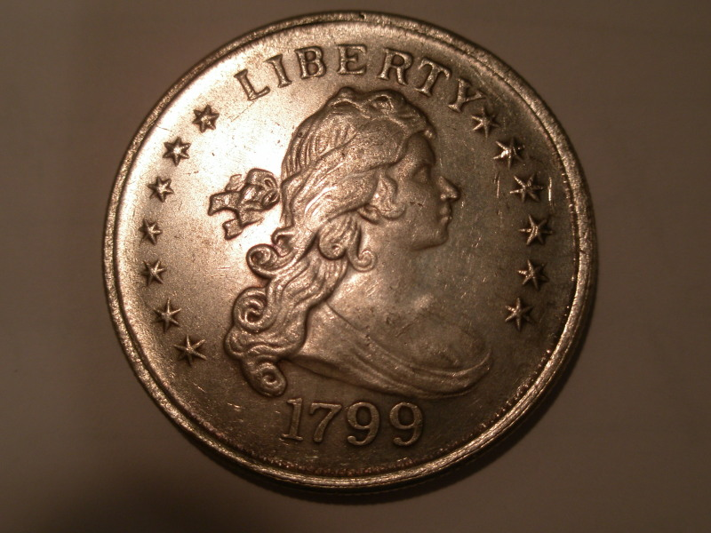 1799 Draped Bust - Face