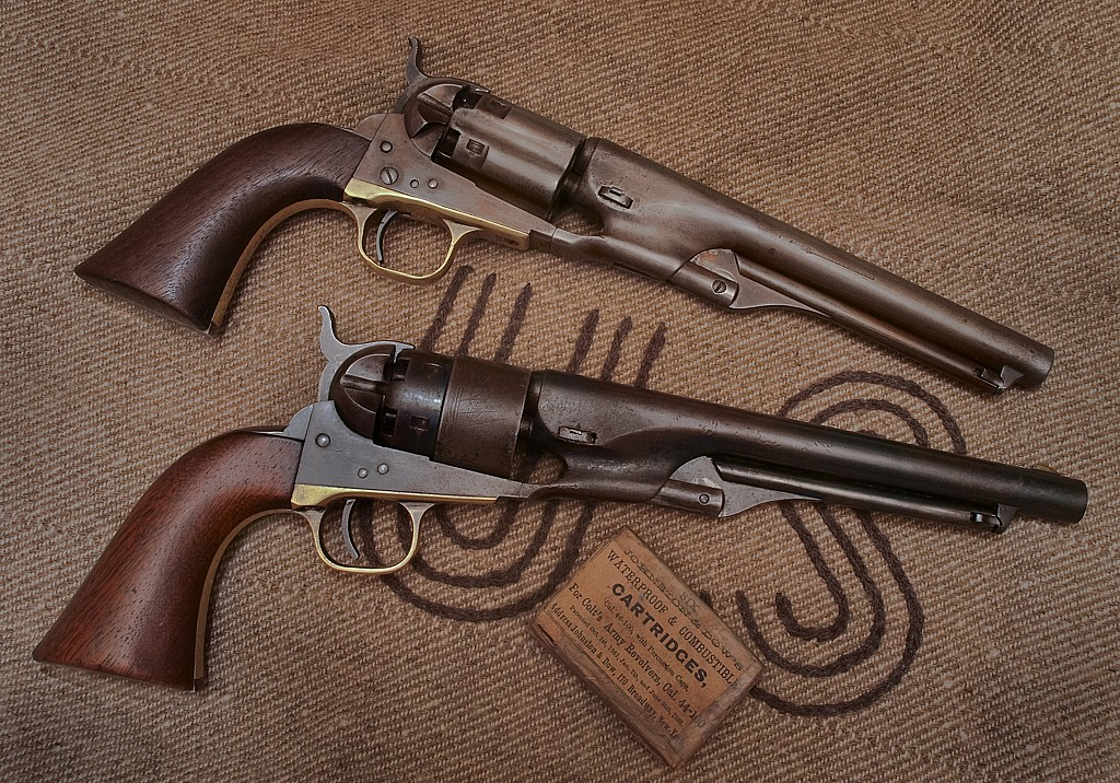 1860 Colt Army Models, Early and Late